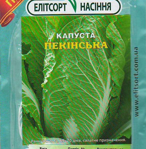 Капуста Пекінська